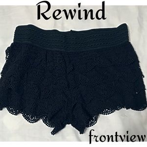 Rewind Layered Lace Shorts Size XL